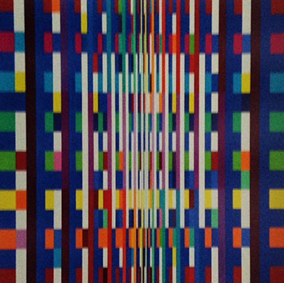 Big Bang 2007 Limited Edition Print by Yaacov Agam