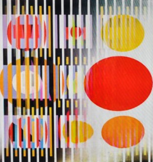 Midnight Light Agamograph 1991 Sculpture by Yaacov Agam