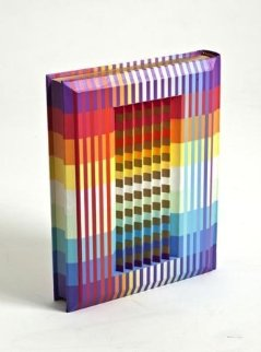Bible - Pentateuch (Five Books of Moses) With Linear English Translation 1992  Sculpture by Yaacov Agam