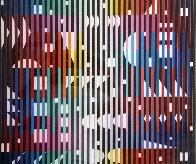Anti Composition Paris 1982 Limited Edition Print by Yaacov Agam - 0