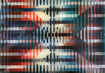 Daily to Eternal Series: Passage  1985 Limited Edition Print by Yaacov Agam