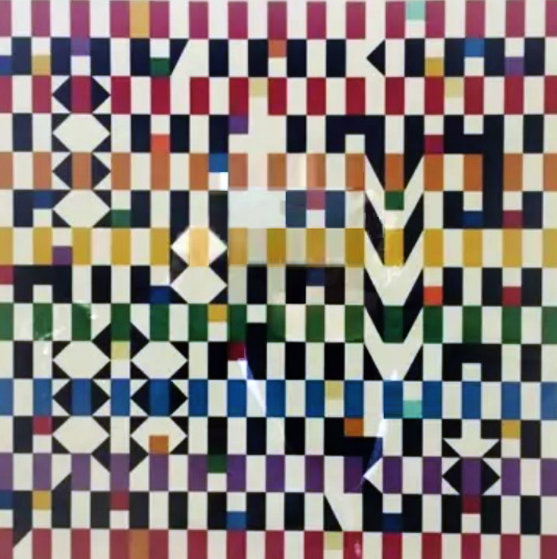 Untitled Serigraph 1980 Limited Edition Print by Yaacov Agam