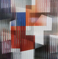 Angles Agamograph Sculpture by Yaacov Agam - 0