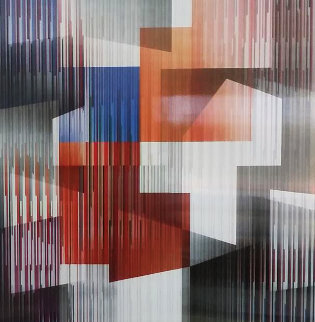 Angles Agamograph Sculpture by Yaacov Agam