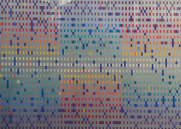 Untitled Lithograph 1980 Limited Edition Print by Yaacov Agam