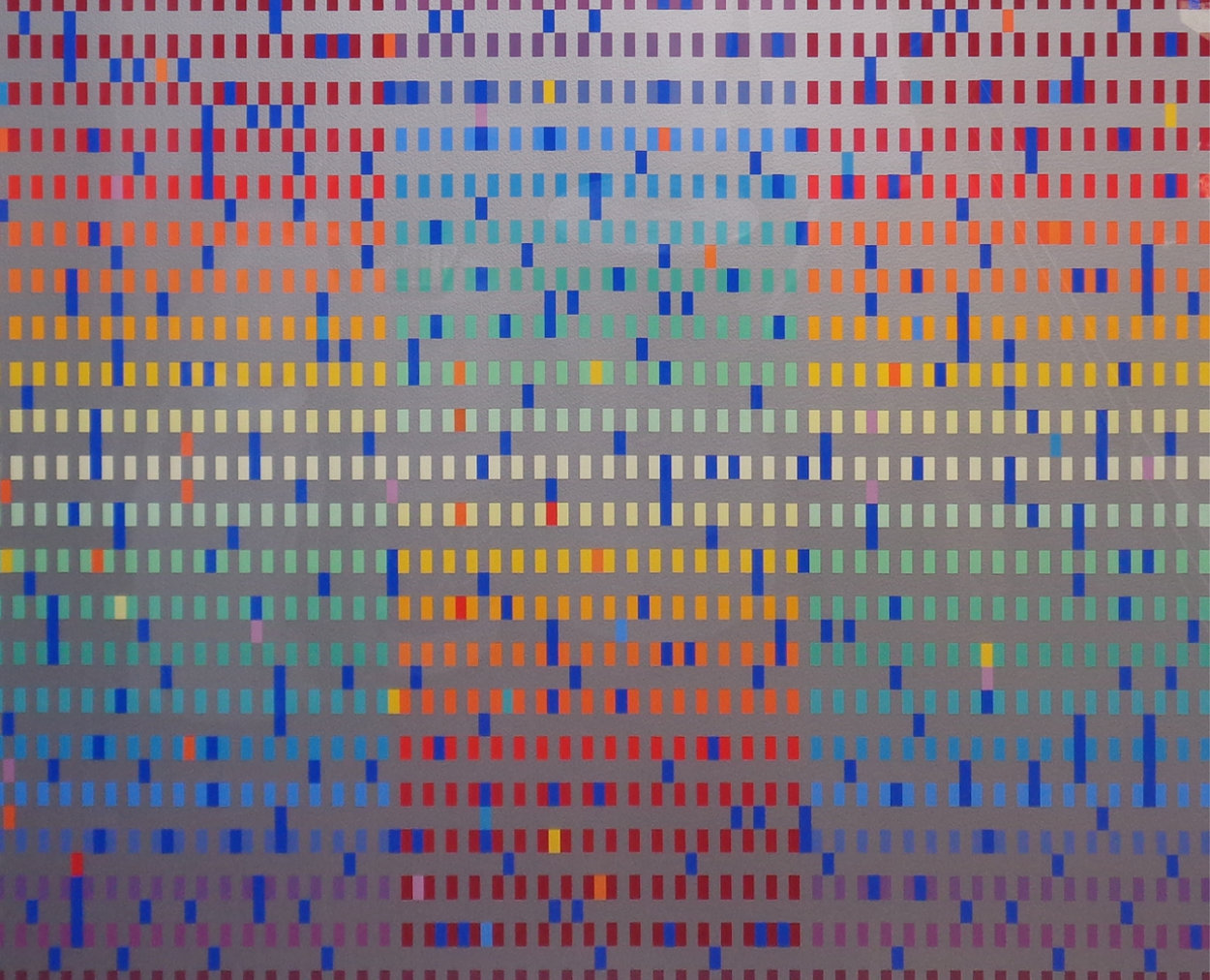 Untitled Agamograph 1980 Sculpture by Yaacov Agam