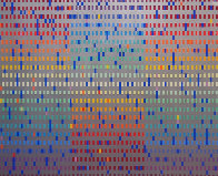 Untitled Agamograph 1980 Sculpture by Yaacov Agam - 0