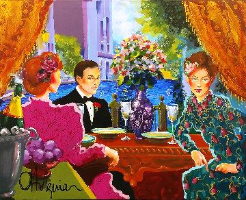 Celebration 37x46 Super Huge  Original Painting - Otto Aguiar