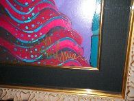 Emerald Eyes Embellished 1999 Limited Edition Print by Otto Aguiar - 3