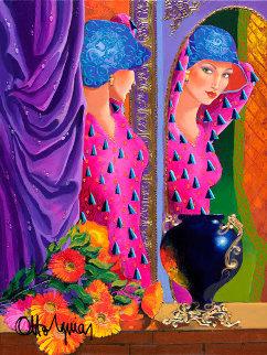 Mystique 2005 48x36 Original Painting - Otto Aguiar