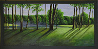 Golfscape 2001 23x43 Original Painting by Roy Ahlgren - 1