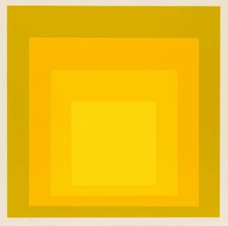 Mma-1 1970 Limited Edition Print - Josef Albers