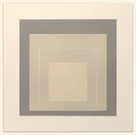 White Line Squares (Series Ii), XIV 1966 Limited Edition Print by Josef Albers - 0