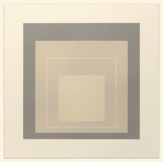 White Line Squares (Series Ii), XIV 1966 Limited Edition Print - Josef Albers