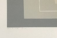 White Line Squares (Series Ii), XIV 1966 Limited Edition Print by Josef Albers - 3