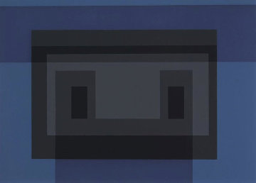 Variant VII, From 10 Variants 1966 Limited Edition Print - Josef Albers