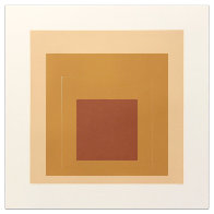 White Line Squares (Series Ii), XVI 1966 (Early) Limited Edition Print by Josef Albers - 0