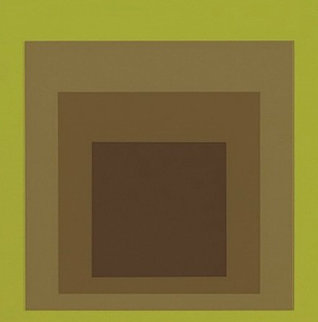 Golden Gate 1965  Limited Edition Print by Josef Albers