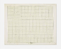 Study / Sketch For a Structural Constellation (C.1969) 22x27 Works on Paper (not prints) by Josef Albers - 1