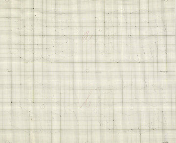 Study / Sketch For a Structural Constellation (C.1969) 22x27 Works on Paper (not prints) - Josef Albers