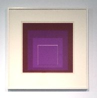 White Line Squares XI: Series II 1966 Limited Edition Print by Josef Albers - 1