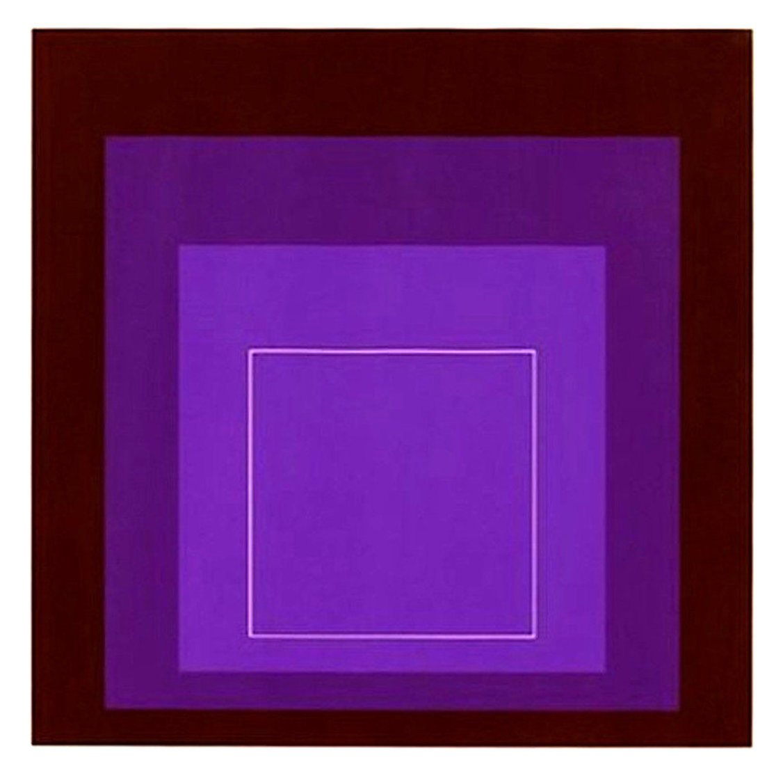 White Line Squares XI: Series II 1966 Limited Edition Print by Josef Albers