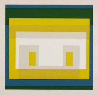 Variant Ii: 10 Variants Suite 1966 Limited Edition Print - Josef Albers