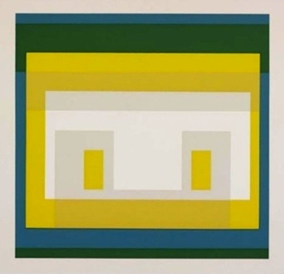 Variant Ii: 10 Variants Suite 1966 Limited Edition Print by Josef Albers