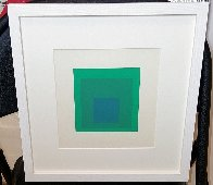 Soft Edge, Hard Edge: Emeraude  PP 1965 Limited Edition Print by Josef Albers - 3