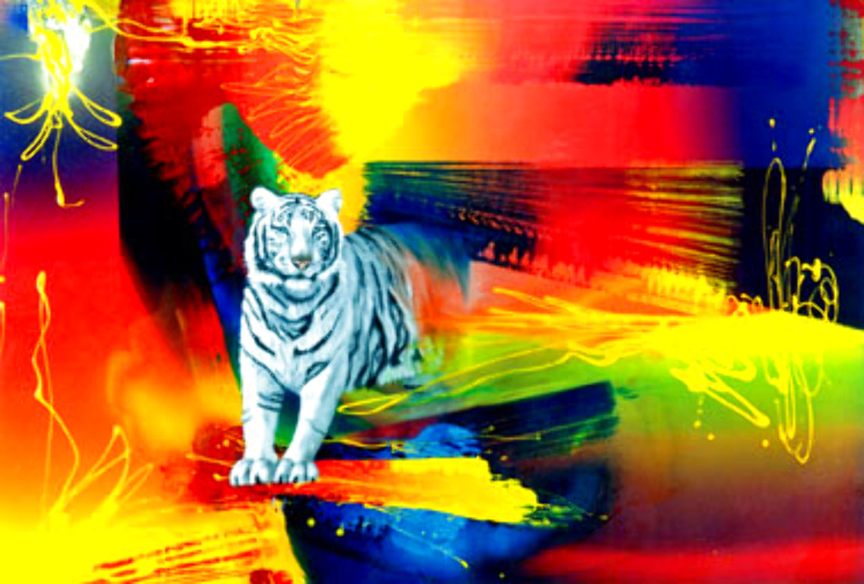 Color Inferno 1995 Limited Edition Print by Juergen Aldag