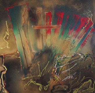 Thessalonians 1996 Original Painting - Juergen Aldag