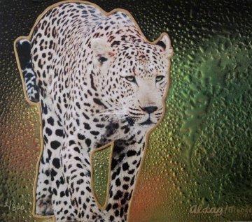 Cheetah II 16x20 Original Painting by Juergen Aldag