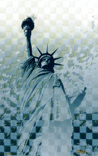 Statue of Liberty Limited Edition Print - Juergen Aldag