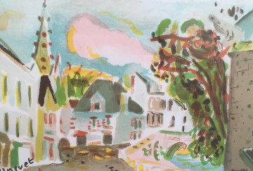 Port Aver (France) Limited Edition Print by Alexandre Minguet