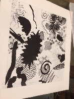 Three American Artist 1982 Limited Edition Print by Peter Alexander - 1