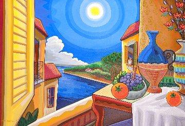 A Monet 1998 24x36 Original Painting - Jason Alexander