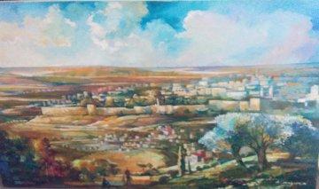 Jerusalem 50x41 Super Huge Original Painting - Alex Grinshpun