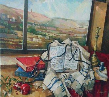 Still Life 50x41 Original Painting - Alex Grinshpun