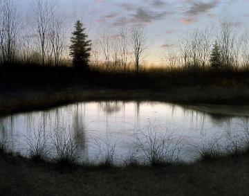 Night Pond 2002 Limited Edition Print by Alexander Volkov
