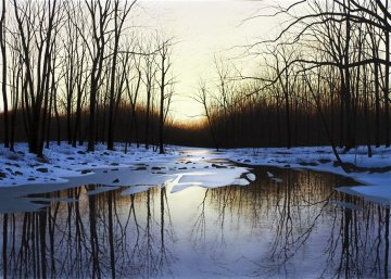 Silence Before Spring AP Embellished 2011 Limited Edition Print by Alexander Volkov