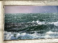Soft Crash Original 2007 18x33 Original Painting by Alfredo Navarro - 1