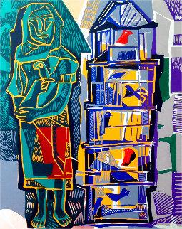 La Pajarera 1988 Limited Edition Print - Alfredo Zalce