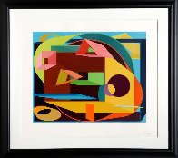 Scholes II 1991 Limited Edition Print by Al Held - 2