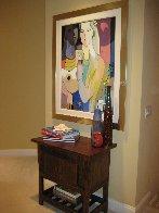 Moonlight Reflections 2003 51x41 Super Huge Original Painting by Ali Golkar - 1