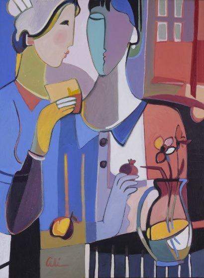 Making Memories 42x32 Original Painting by Ali Golkar