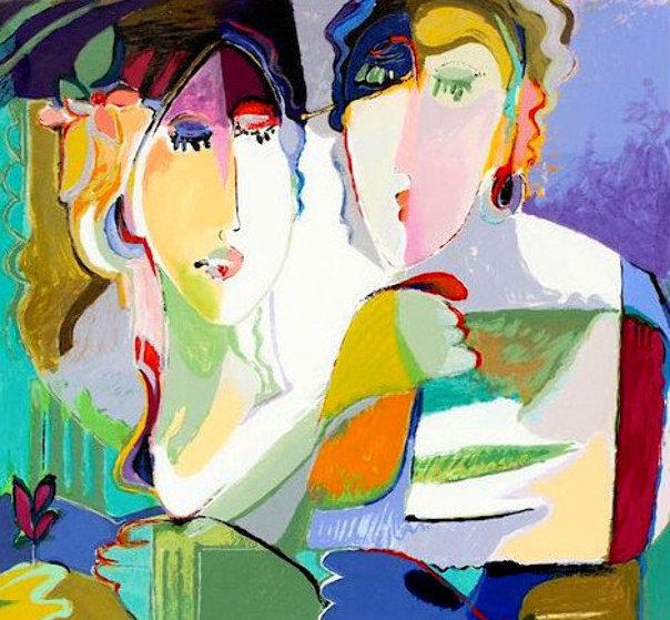 Sisters  Limited Edition Print by Ali Golkar