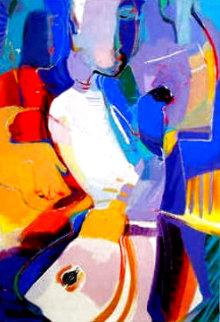 Blue Serenade II Limited Edition Print - Ali Golkar