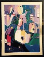 Untitled Painting 1994 44x57 Original Painting by Ali Golkar - 1
