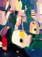 Untitled Painting 1994 44x57 Original Painting by Ali Golkar - 0