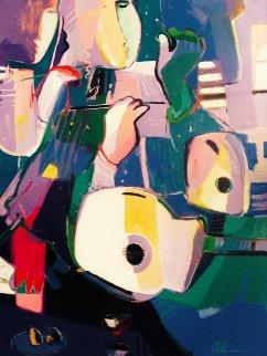 Untitled Painting 1994 44x57 Original Painting by Ali Golkar